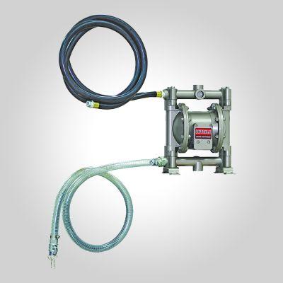Kit pompe à membranes pour vidange bac de fosse