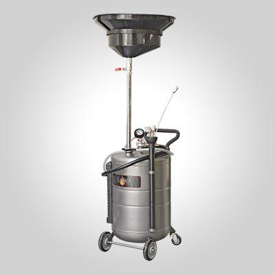 Aspirateur pneumatique acier 100 litres à pré-chambre 12 litres