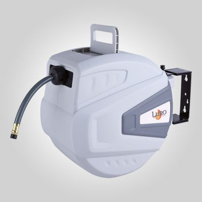 Enrouleur air plastique carrossé 15 m - 3/8''  - liaison 1.5 m